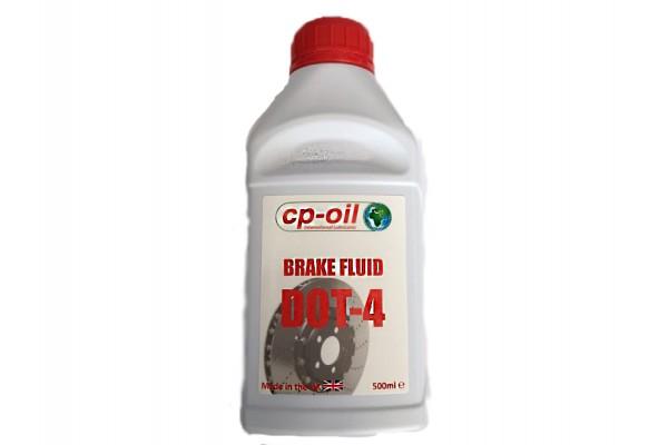 CP BRAKE FLUID CLUTCH PLUS DOT-4 500ml