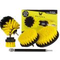 Wevora Σετ Βούρτσες Γενικού Καθαρισμού Για Δραπανοκατσαβιδα 5 τεμάχια WR-001