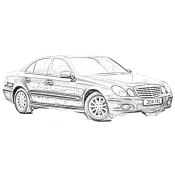 E CLASS (W211, S211) Airmatic (with ADS)