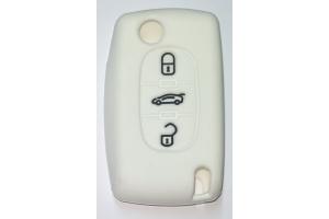 Προστατευτικο Καλυμμα Κλειδιου Citroen 3 Κουμπιά με Logo Citroen