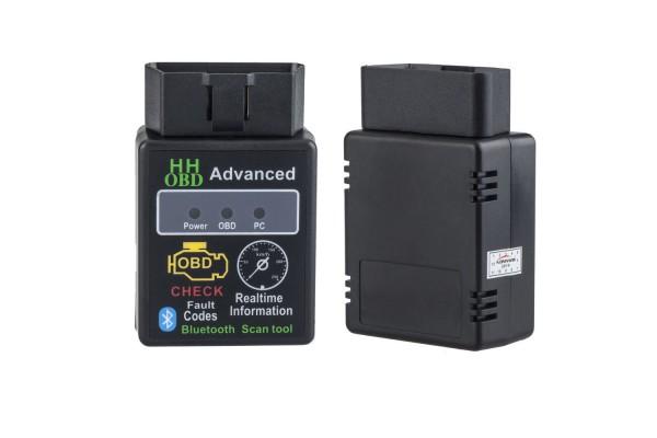HH Bluetooth OBD2 V2.1 Διαγνωστικό Βλαβών Αυτοκινήτου ELM327
