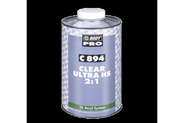 C894 Clear Ultra HS 2:1 1L